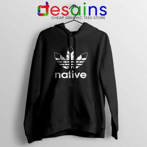 Native American Adidas Hoodie Indians Logo