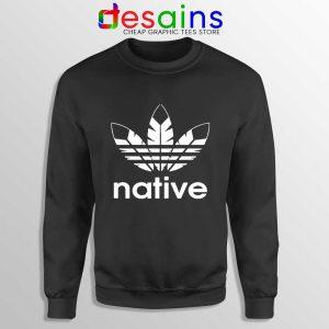 Native American Adidas Sweatshirt Indians Logo