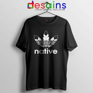 Native American Adidas T Shirt Indians Logo