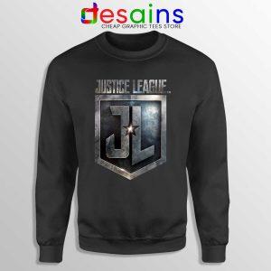 Snyder Cut Justice League Logo Black Sweatshirt Film DCEU