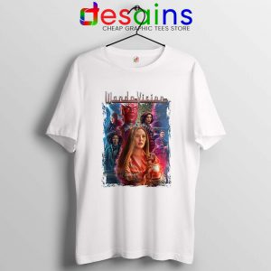Wandavison Scarlet Witch and Vision T Shirt