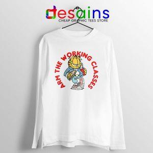 Best Garfield Meme Long Sleeve Tee Arm The Working Classes