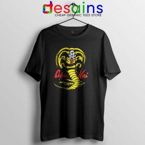 Buy Cobra Kai TV Show T Shirt Karate Kid Logo