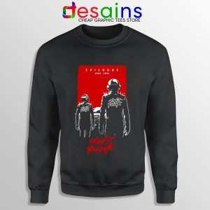 Daft Punk Epilogue Graphic Sweatshirt 1993 to 2021