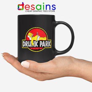 Homer Drinking Beer Mug Drunk Park Simpsons