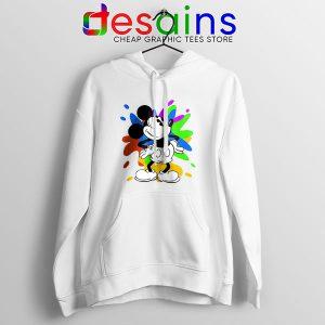 Mickey Mouse On Disney Art Hoodie Best Cartoon
