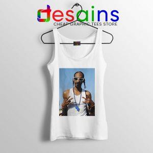 Snoop Dogg Rapper Graphic Tank Top Nipsey Blue