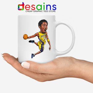 Best Kobe Bryant Game Dunk Mug NBA Lakers