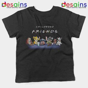 Cartoons Friends Show Kids Tee Childhood TV Series