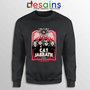 Cat Sabbath Band Sweatshirt Funny Rock Bands