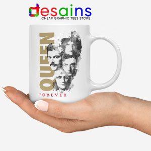 Forever Queen Band Mug Freddie Mercury