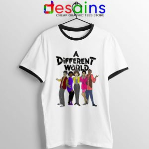 A Different World Style Ringer Tee Sitcom TV