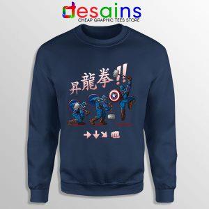 Captain America Shoryuken Sweatshirt Street Fighter