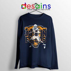 Cheap Justin Fields NFL Long Sleeve Tee Chicago Bears