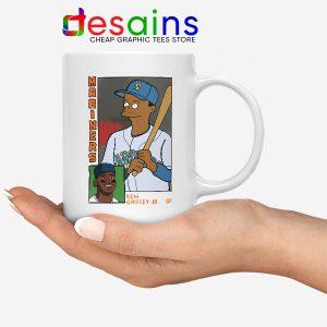 Ken Griffey Jr Homer Simpson Mug Mariners MLB