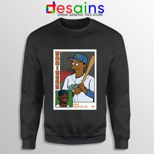Ken Griffey Jr Homer Simpson Sweatshirt Mariners MLB