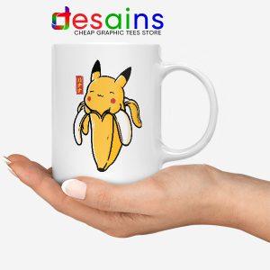 Pikachu Memes Banana Mug Cute Pokemon