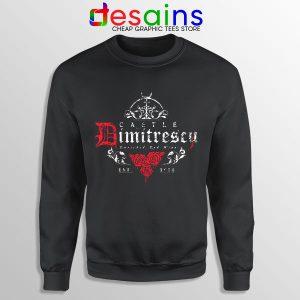 Resident Evil Village Wine Sweatshirt Dimitrescu