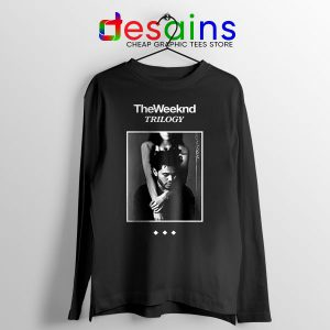 Trilogy The Weeknd Album Cover Long Sleeve Tee XO