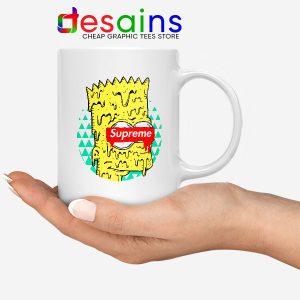 Bart Simpson in Fashion Mug The Simpsons