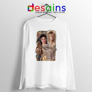 Bowie In Labyrinth Long Sleeve Tee Tribute Film