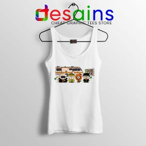 Breaking Bad Characters Animated Tank Top South Park
