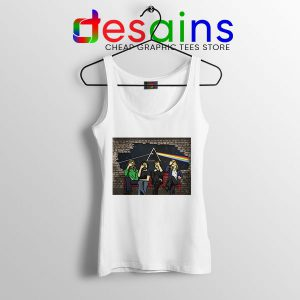 Buy Pink Floyd The Wall White Tank Top Rock Band
