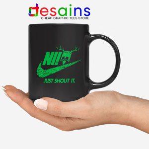 Knights Who Say Ni Mug Nike Just Shout It