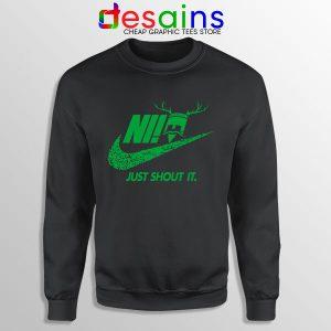 Knights Who Say Ni Sweatshirt Nike Just Shout It