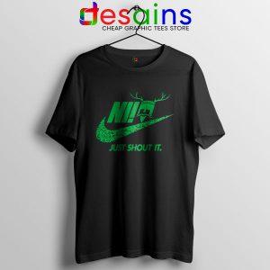 Knights Who Say Ni T Shirt Nike Just Shout It