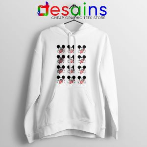 Mickey Mouse Flipping You Off Hoodie Disney Funny