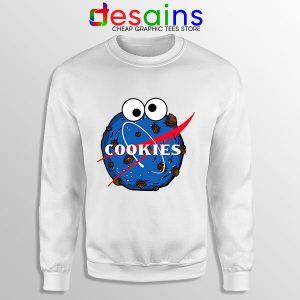 NASA Space Cookies Sweatshirt Funny Old Logo