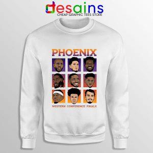 Phoenix Suns Roster 2021 Sweatshirt WCF NBA Merch