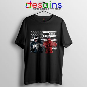Venom 2 Flag Spider T Shirt Let There Be Carnage