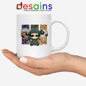 Glass Film Powerpuff Girls Mug Cartoon Split