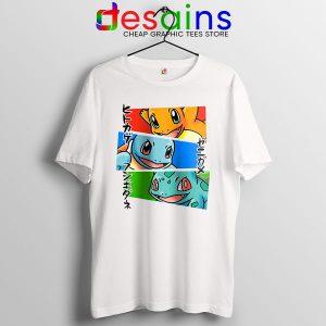 Kanto Japanese Pokemon T Shirt Pokedex