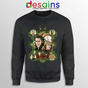 Loki Time Keepers Comics Sweatshirt Marvel Series
