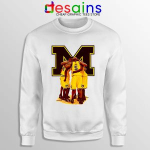 Michigan Fab 5 Roster Sweatshirt The Fab Five