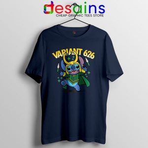 Variant Loki Funny Stitch T Shirt Marvel Comics TVA
