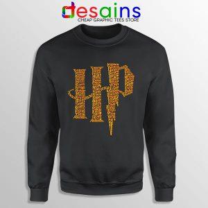 Wizard World Harry Potter Sweatshirt List of Spells